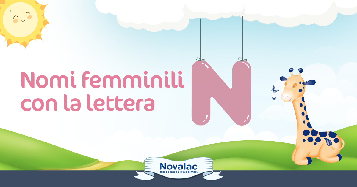 lowest price 9c75e 9f675 Nomi Femminili con la N - Nomi da Femmina - Novalac.it