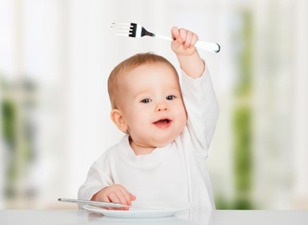 il bambino non mangia