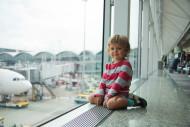 viaggio in aereo con il tuo bambino