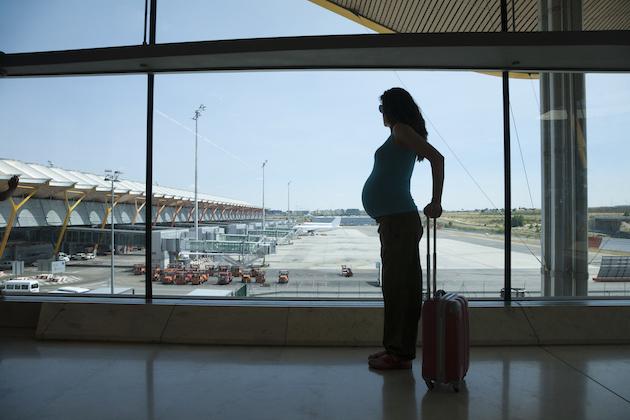 viaggiare in gravidanza