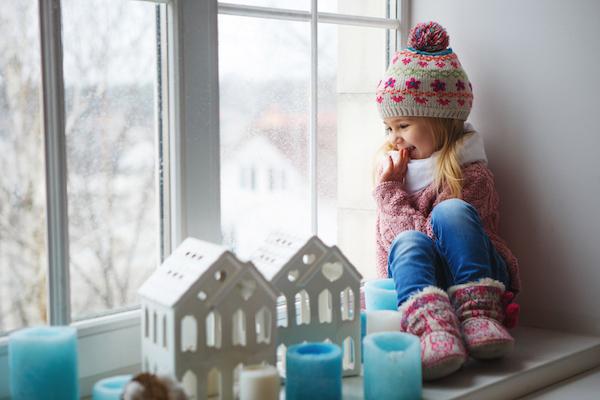 Capodanno con i bambini sulla neve