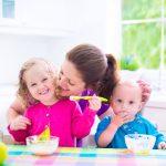 colazione per i bambini piccoli